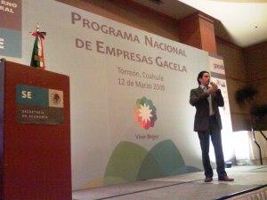 Convocatoria Nacional de Gacelas. Torreón, Coahuila. 12-03-09